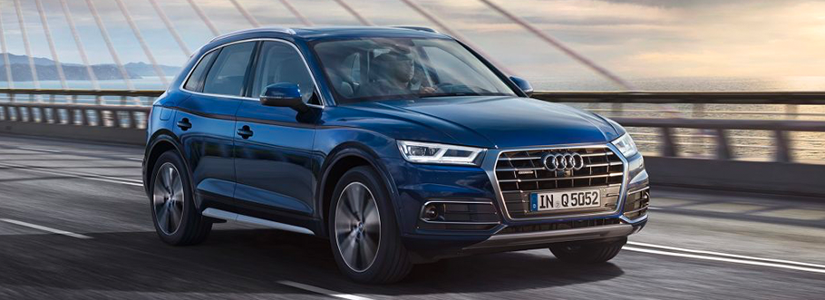 2020 Audi A4 in grey - hover for interior image