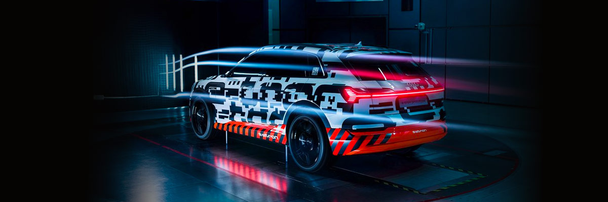The New All-Electric Audi e-tron