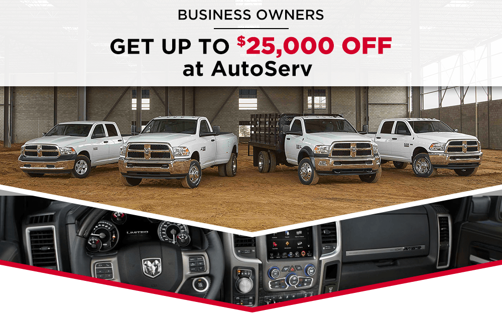 Business Owners Get Up To $25,000 Off At AutoServ