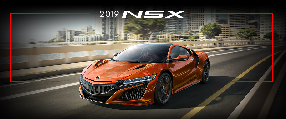 The New 2019 Acura NSX. header