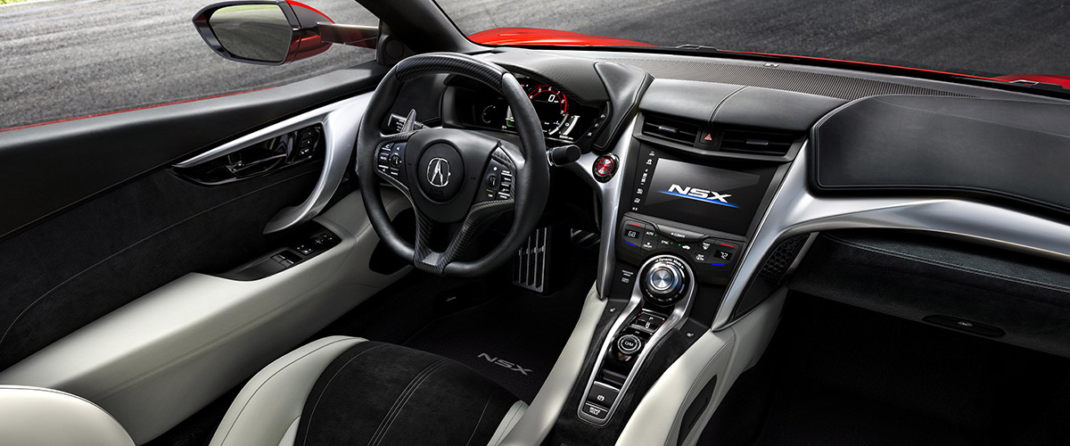 2019 Acura NSX Interior, Safety & Technology