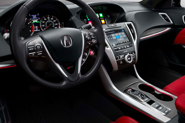 2020 Acura TLX Interior & Technology