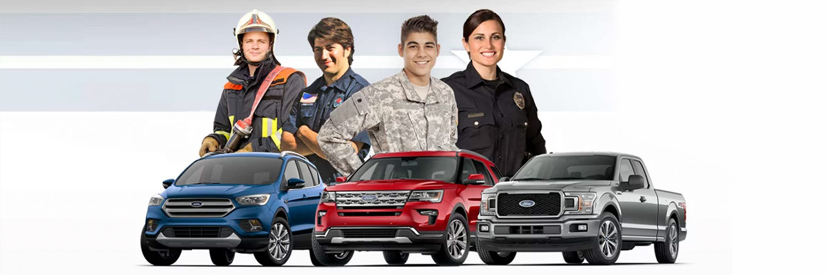 Ford First Responder >> Ford Military Discount Near Newark Nj New Ford Specials