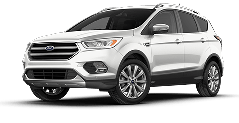 2018 Ford Escape Front Exterior in Oxford White at All American Ford Old Bridge