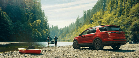 2018 Ford Explorer Engine Specs & Performance at All American Ford Old Bridge - Front Exterior