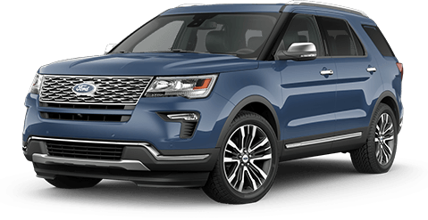 2018 Ford Explorer Front Exterior in Oxford White at All American Ford Old Bridge