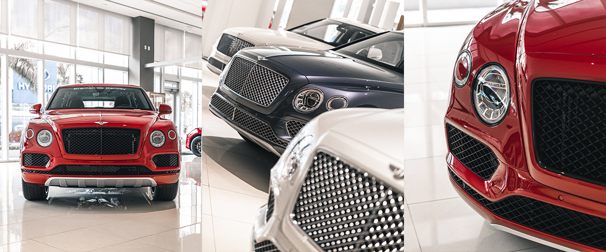2019 Bentley Bentayga V8 header