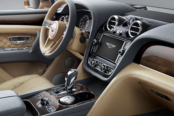 2019 Bentley Bentayga V8 Interior & Tech