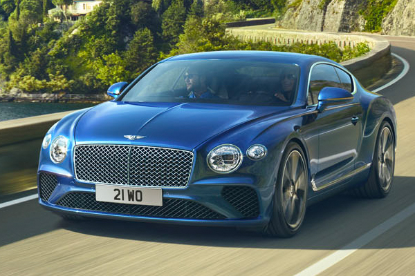 New Bentley Continental GT in Miami