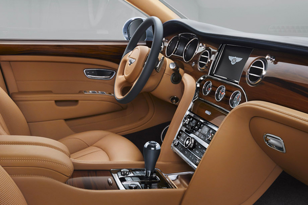 New Bentley Mulsanne Interior & Technology