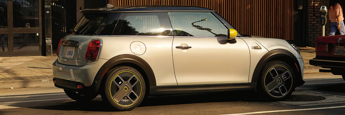 THE MINI ELECTRIC HARDTOP 2 DOOR footer