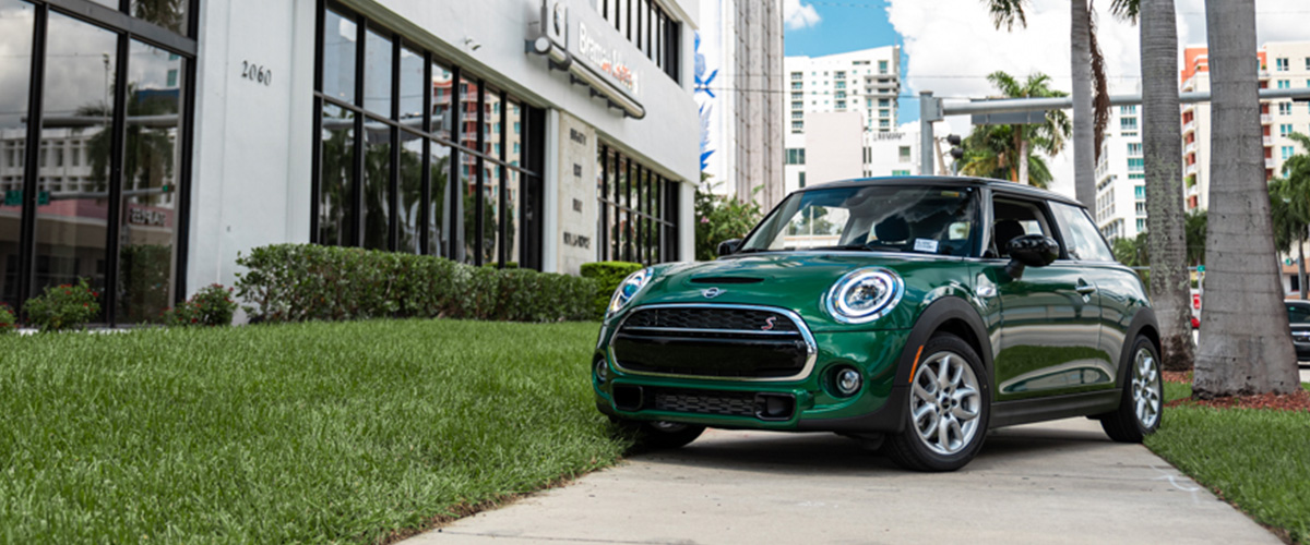 THE 2020 MINI COOPER HARDTOP 2 DOOR.
