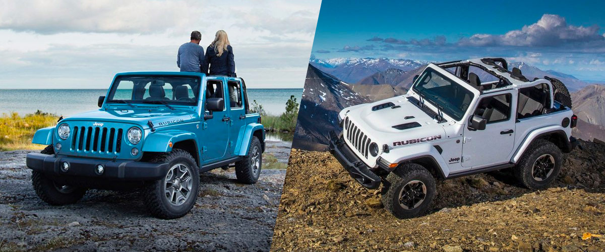 What's the Difference Between the Wrangler JK and the Wrangler?