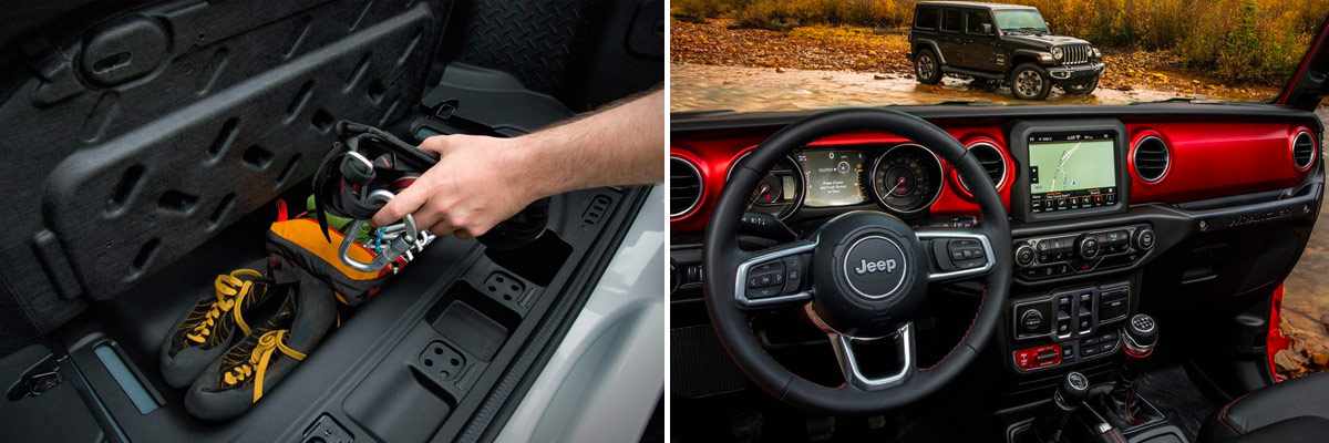 2018 Jeep Wrangler Interior vs. 2018 Jeep Wrangler JK Interior