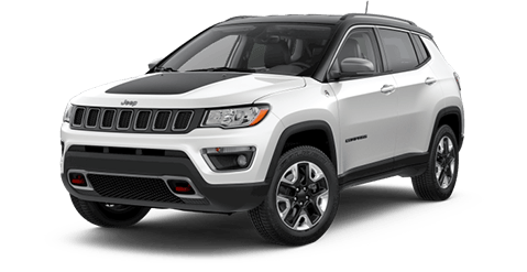 2018 Jeep Grand Cherokee Trailhawk Front Exterior in White