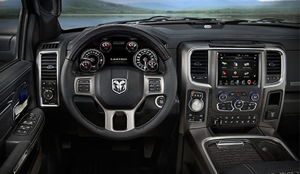 2018 Ram 1500 Limited Interior Features