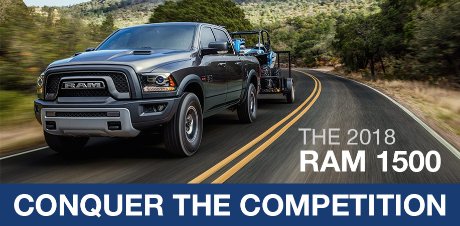 The 2018 Ram 1500 Conquer the Competition