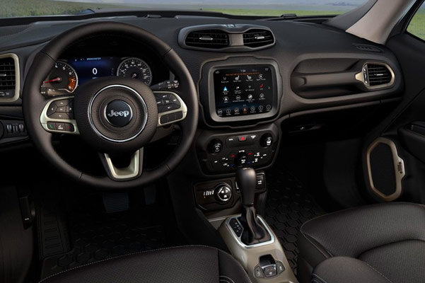 2018 Jeep Renegade Interior Features