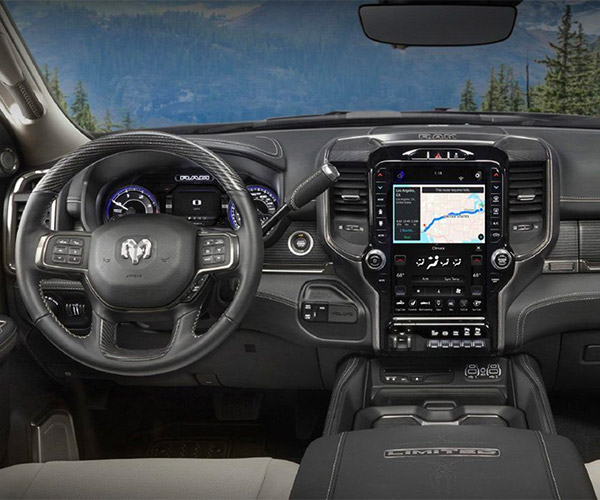 The 2019 RAM 2500 Interior