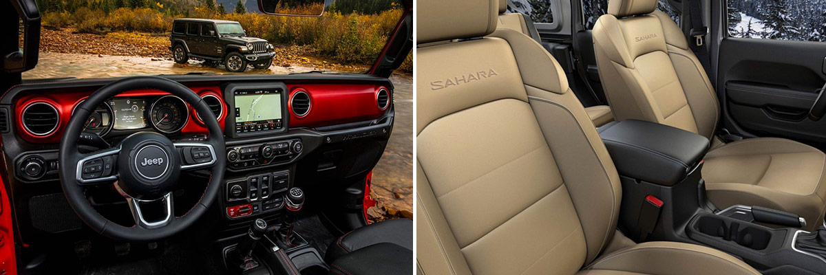 2018 Jeep Wrangler Interior Features & Technology