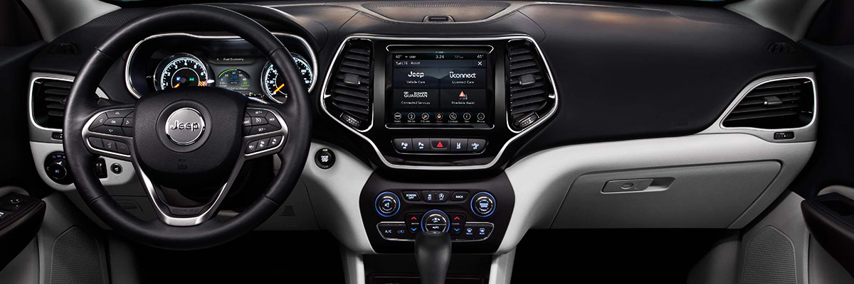 New Jeep Cherokee Design and Interior Features