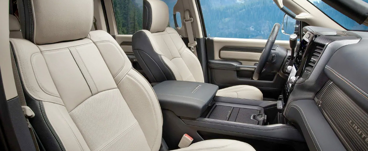 2019 Ram 2500 Interior, Tech & Exterior