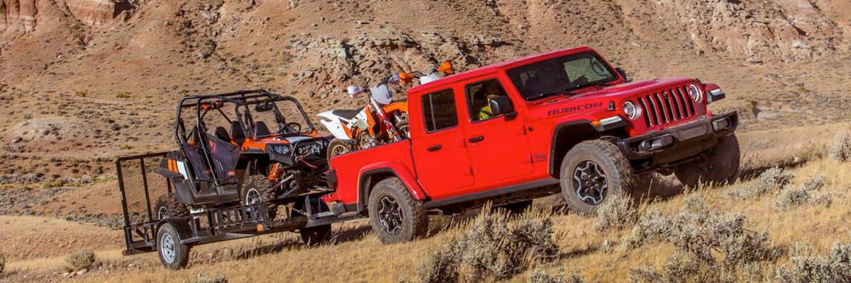 2020 Jeep Gladiator Specs & Towing Capacity