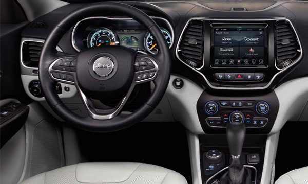 2019 Jeep Cherokee - Interior