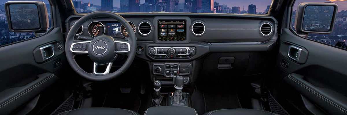 2020 Jeep Gladiator Interior & Technology