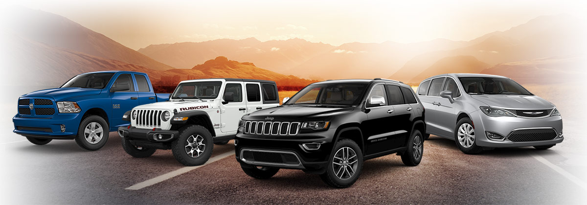 Chrysler Dodge Jeep Ram Lineup
