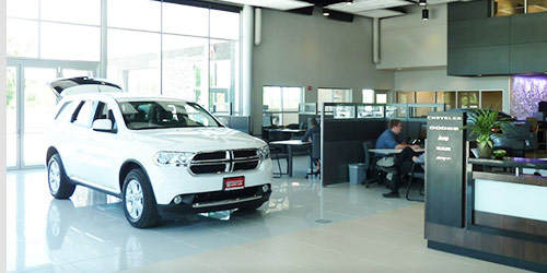 Baxter CDJR of Bellevue interior dealership image