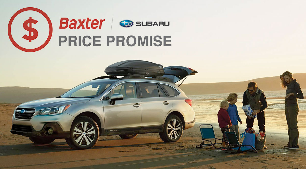 baxter price promise buy or lease a new subaru in omaha ne. Black Bedroom Furniture Sets. Home Design Ideas