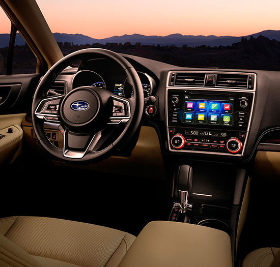 2018 Subaru Outback interior dashboard