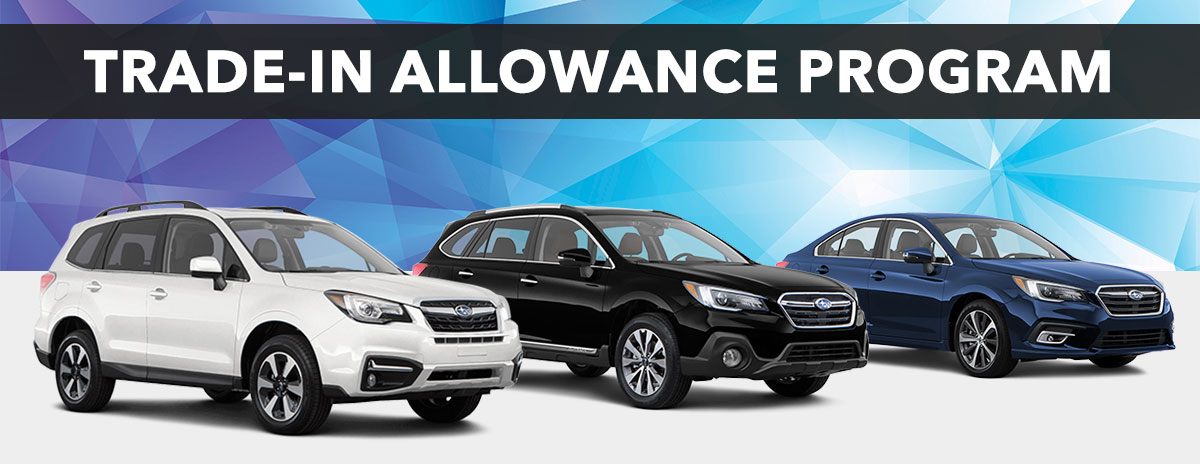 Subaru Trade-In Allowance