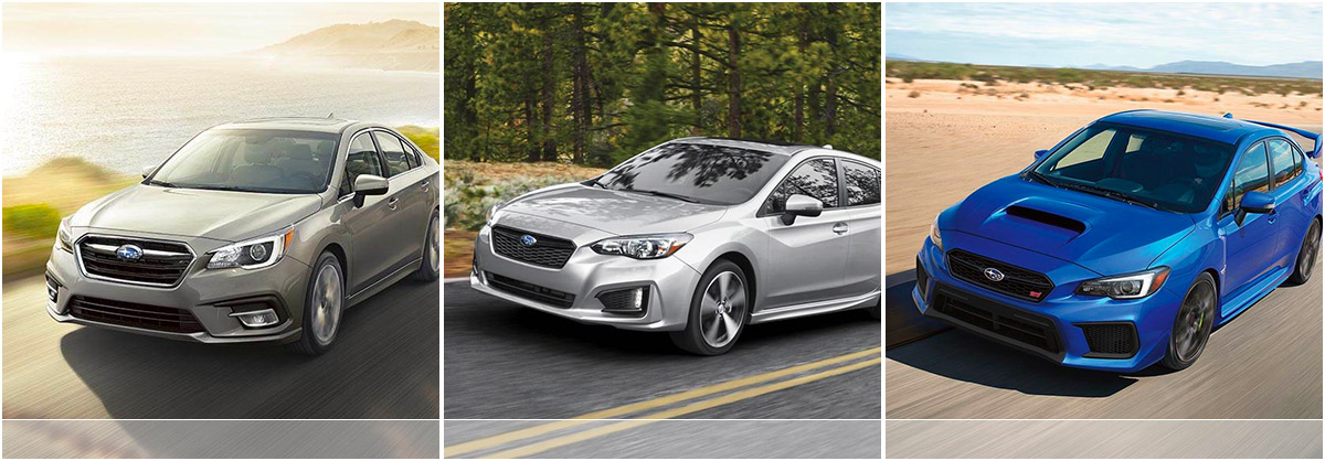 Discover Our Subaru Sedan Models