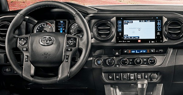 2018 Toyota Tacoma Interior & Technology