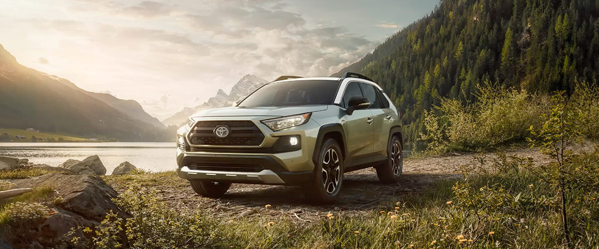 The 2019 Toyota RAV4 Header