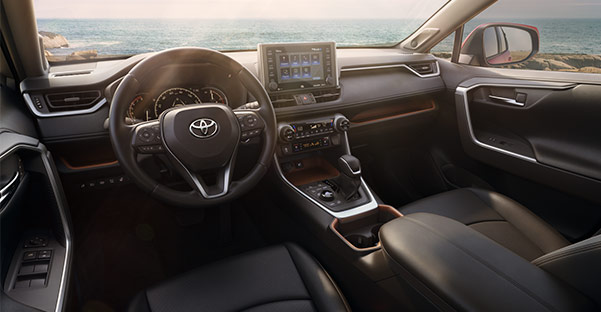 The 2019 Toyota RAV4 Interior Dashboard