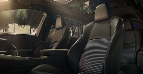 The 2019 Toyota RAV4 Interior Seating