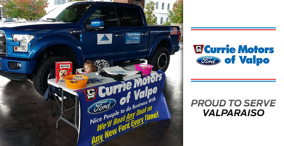 currie motors ford of valpo community involvement our