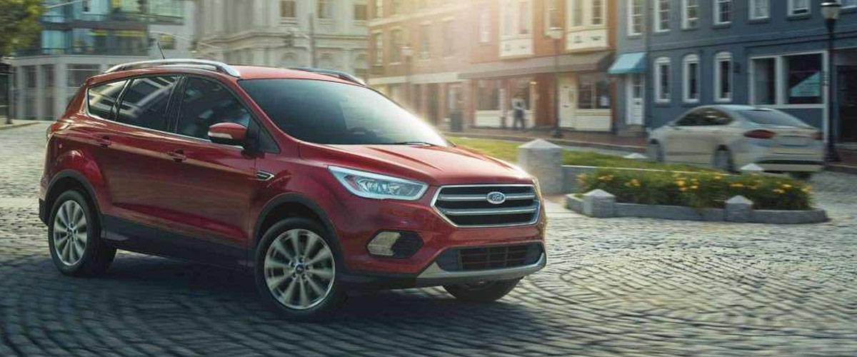 2018 Ford Escape header