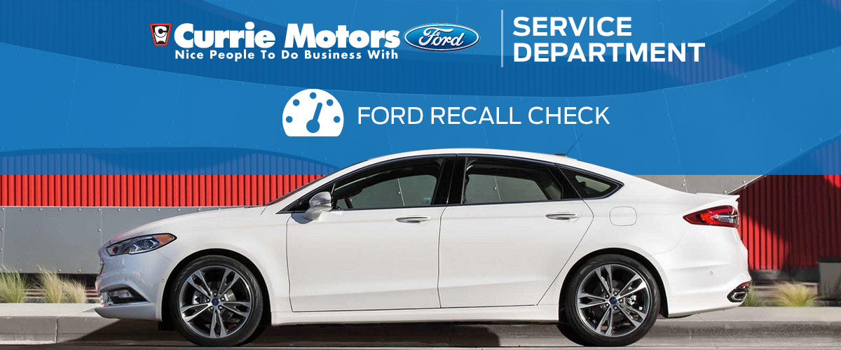 Ford Fusion Recall Service │Ford Service Center in Frankfort, IL