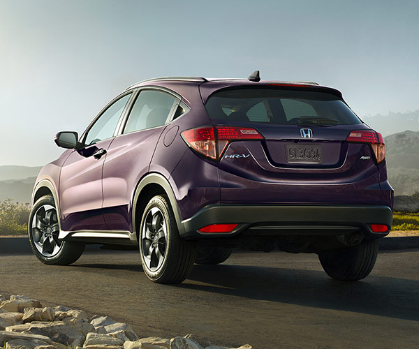 Honda HRV back