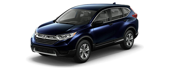 Compare the 2018 Honda CR-V LX 2WD CVT