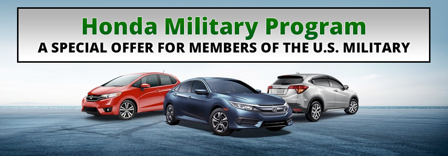What Is The Honda Military Program