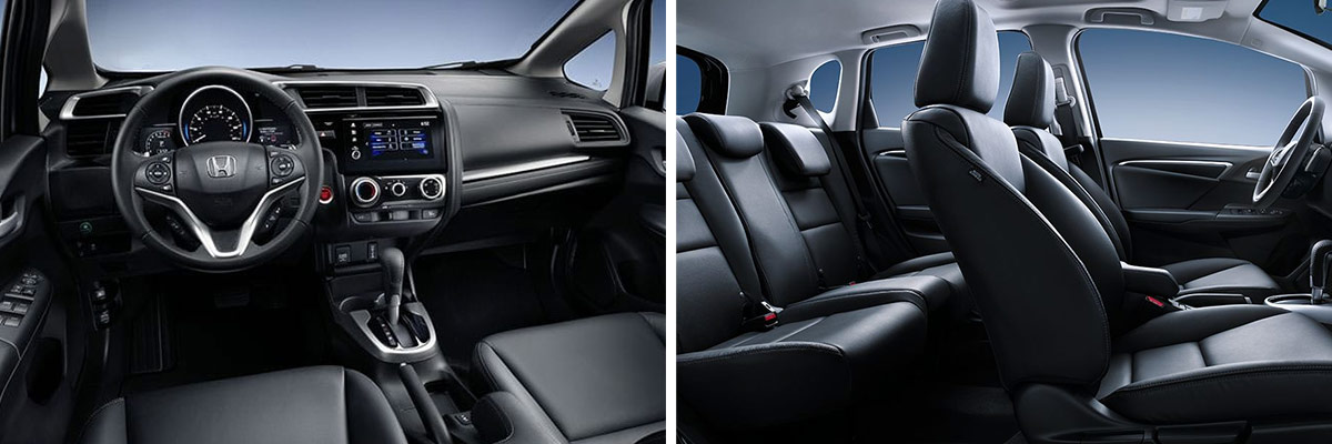 2019 Honda Fit Interior Comfort & Convenience