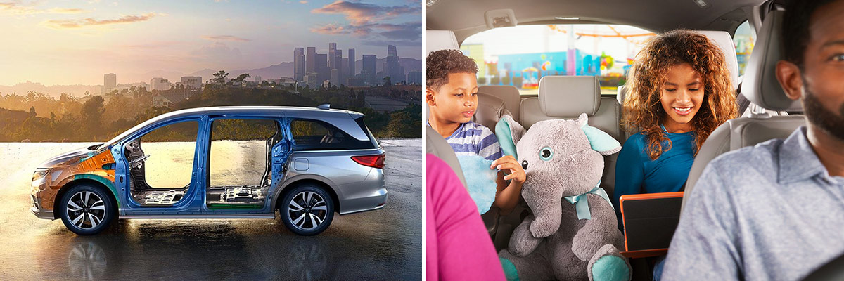 2019 Honda Odyssey Safety Features & Specs