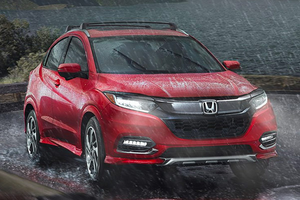 2019 Honda HR-V Gas Mileage, Specs & Safety Features