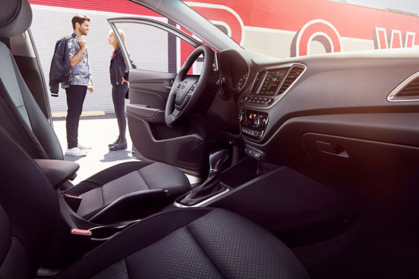 2019 Hyundai Accent Interior & Technology Specs