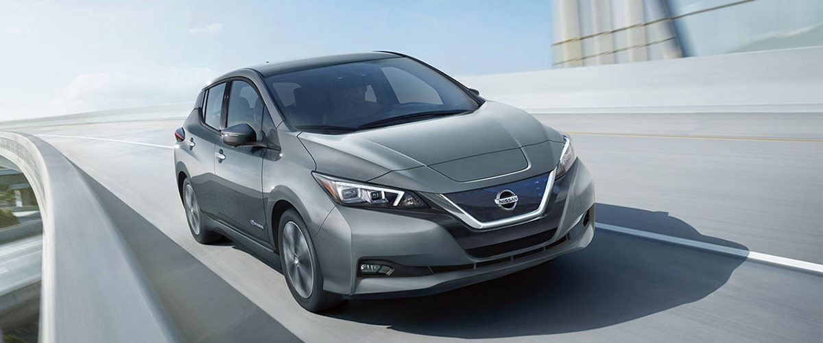 2018 Nissan LEAF header